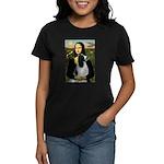 Mona Lisa/English Springer Women's Dark T-Shirt