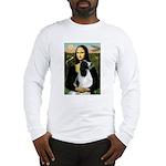 Mona Lisa/English Springer Long Sleeve T-Shirt