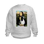 Mona Lisa/English Springer Kids Sweatshirt