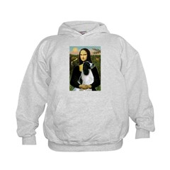 Mona Lisa/English Springer Kids Hoodie