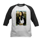 Mona Lisa/English Springer Kids Baseball Jersey