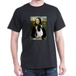 Mona Lisa/English Springer Dark T-Shirt