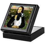 Mona Lisa/English Springer Keepsake Box