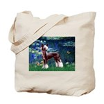 Lilies / Chinese Crested Tote Bag