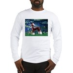 Lilies / Chinese Crested Long Sleeve T-Shirt