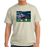 Lilies / Chinese Crested Light T-Shirt