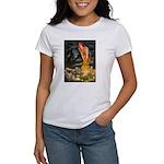 Fairies / Tibetan Spaniel Women's T-Shirt