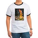 Fairies / Tibetan Spaniel Ringer T