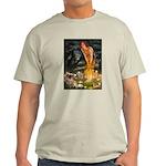 Fairies / Tibetan Spaniel Light T-Shirt