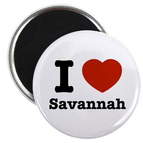 I love Savanah Magnet