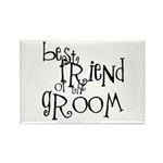 Grandfather of the Groom Rectangle Magnet (100 pac