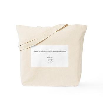 An English Apocalypse Tote Bag