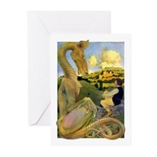 LAST DRAGON Greeting Cards (Pk of 10)