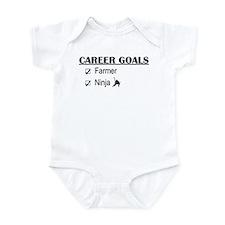 Farmer Career Goals Infant Bodysuit