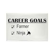 Farmer Career Goals Rectangle Magnet