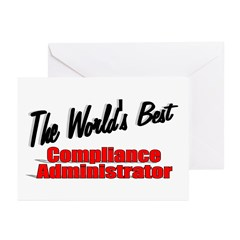 &quot;The World's Best Compliance Administrator&quot; Greeti