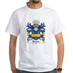 Barton Family Crest White T-Shirt