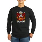 Bangor Family Crest Long Sleeve Dark T-Shirt