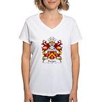 Bangor Family Crest Women's V-Neck T-Shirt