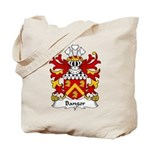 Bangor Family Crest Tote Bag