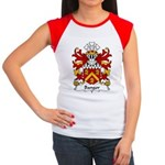 Bangor Family Crest Women's Cap Sleeve T-Shirt