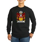 Bamvill Family Crest Long Sleeve Dark T-Shirt