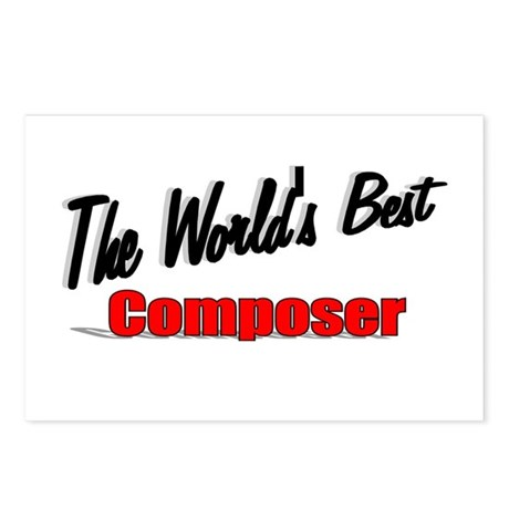 """The World's Best Composer"" Postcards (Package of"
