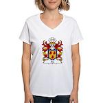 Alo Family Crest Women's V-Neck T-Shirt