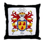 Alo Family Crest Throw Pillow