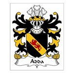 Adda Family Crest Small Poster