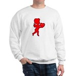 Cupid Be My Valentine Sweatshirt