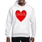 When we are apart Hooded Sweatshirt