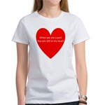 When we are apart Women's T-Shirt
