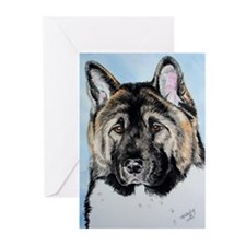 Akita Greeting Cards (Pk of 10)