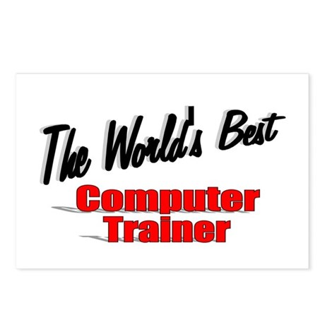 """The World's Best Computer Trainer"" Postcards (Pac"