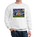 Starry Night / Vizsla Sweatshirt