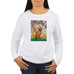 Spring / Vizsla Women's Long Sleeve T-Shirt