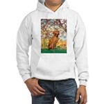 Spring / Vizsla Hooded Sweatshirt
