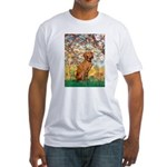 Spring / Vizsla Fitted T-Shirt