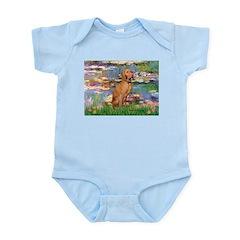 Lilies / Vizsla Infant Bodysuit