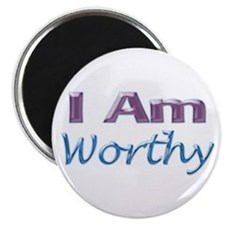"I Am Worthy 2.25"" Magnet (10 pack)"