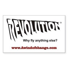 Revolution Apparel Rectangle Decal