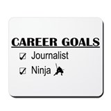 Journalist Career Goals Mousepad