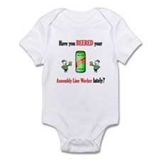 Assembly Line Worker Infant Bodysuit
