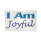 I Am Joyful Rectangle Magnet (100 pack)