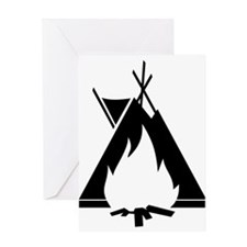 Tepee Greeting Card