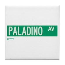Paladino Avenue in NY Tile Coaster
