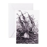 Kraken Greeting Cards (Pk of 10)
