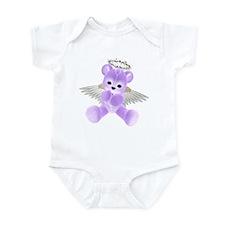 PURPLE ANGEL BEAR 2 Infant Bodysuit