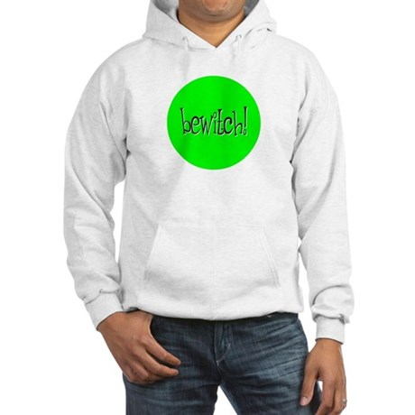 Bewitch Green Hooded Sweatshirt